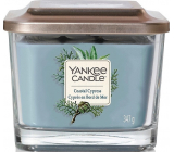 Yankee Candle Coastal Cypress - Coastal Cypress scented candle Elevation medium glass 3 wicks 347 g