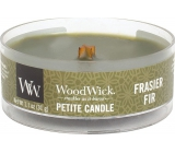 WoodWick Frasier Fir - Fraser Fir Scented Candle with Wood Wick Petite 31 g