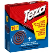 Teza Spiral against flying insects 10 pieces