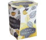Admit Verona Anti Tobacco - Anti-tobacco scented candle in glass 90 g