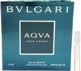 Bvlgari Aqva pour Homme Eau De Toilette Spray 1.5 ml with Sprayer, Vialka