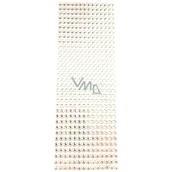 Albi Self-adhesive rhinestones silver 5 mm 462 pieces
