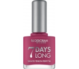 Deborah Milano 7 Days Long Nail Enamel Nail Polish 868 Magenta Pink 11 ml