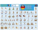 Ditipo Language memory game Prepositions German 297 x 222 mm