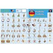 Ditipo Language memory game Prepositions German 297 x 222 mm