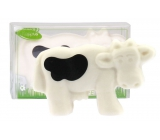 Kappus Cow soap in an attractive, transparent box of 100 g