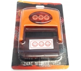 Albi Stamp with picture Smiley 6.5 cm x 5.3 cm x 2.5 cm