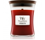 WoodWick candle glass small Cinnamon Chai 1040