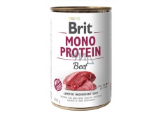 Brit Mono Protein Beef complete dog food 400 g