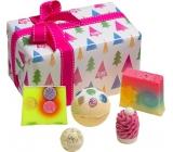 Bomb Cosmetics Christmas Tree - O Christmas Tree ballistics 160 g + block 50 g + ball 30 g + soap 2 x 100 g, cosmetic set