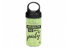 Albi Cooling towel with print Apply after the party 100 x 30 cm
