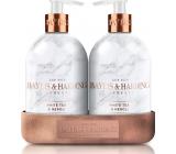 Baylis & Harding White tea and Neroli cleansing gel 500 ml + body lotion 500 ml, cosmetic set