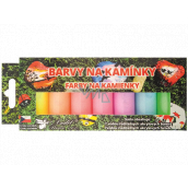 Kreativ Color Colors for stones acrylic luminous set of 7 water-soluble paints x 15 g