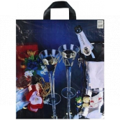 Press Plastic bag 43 x 47 cm Champagne 1 piece