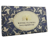 English Soap Vintage Winter Flowers natural perfumed toilet soap with shea butter 190 g