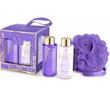 Grace Cole Dream Duo shower gel 100 ml + body lotion 100 ml + washcloth, cosmetic set