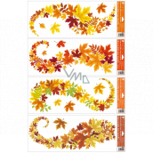Window foil stripes leaves 60 x 22 cm various motifs