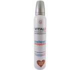 Vitale Exclusively Professional coloring foam hardener with vitamin E Chestnut - Chestnut 200 ml