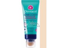 Dermacol Acnecover make-up & Corrector make-up a korektor 02 odstín 30 ml + 3 g