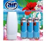 Air Menline Tahiti Paradise Happy Air freshener set + refills 3 x 15 ml spray