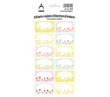 Arch Household stickers spring meadow 12 labels