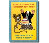 Albi Playing card in the envelope For the birthday Birthday mole Toy Invention Toy Box 14.8 x 21 cm