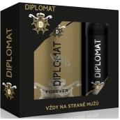 Astrid Diplomat Forever EdT 100 ml men's eau de toilette + 150 ml men's deodorant spray, gift set