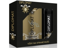 Astrid Diplomat Forever EdT 100 ml men's eau de toilette + 150 ml men's deodorant spray, gift set