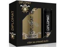 Astrid Diplomat Forever eau de toilette 100 ml + deodorant spray for men 150 ml, gift set