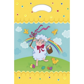 Ditipo Bag with a hole Easter sheep 22 x 32 cm