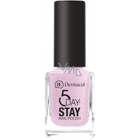Dermacol 5 Day Stay Long-lasting nail polish 03 Secret Wish 11 ml