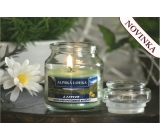 Lima Aroma Dreams Alpine meadow aromatic candle glass with lid 120 g