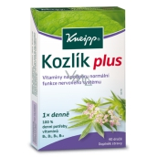 Kneipp Valerian Plus food supplement to support the normal function of the nervous system 40 dragees