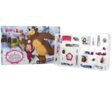 Masha and Bear Advent cosmetic calendar 24 pieces