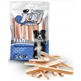 CALIBRA 80g Joy Dog Classic Fish + Chicken Sandwich 4990