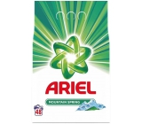 Ariel Mountain Spring washing powder for clean and fragrance-free stains 48 doses of 3.6 kg