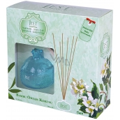 Cimen Jest Jasmine and Green Tea design aroma diffuser with natural rattan sticks for gradual release of fragrance 100 ml