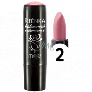 My Balm lipstick with vitamin E, shade 02