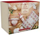 Tesori d Oriente Byzantium body cream 300 ml + perfumed water for women 100 ml + bag, gift set