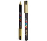 Posca Universal acrylic marker 0.7 - 1 mm Gold PC-1MR