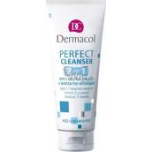 Dermacol Perfect Cleanser 3v1 Mycí gel na obličej s mořským hedvábím 100 ml