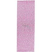 Albi Self-adhesive stones red 5 mm 462 pieces