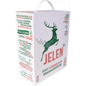 Deer soap scouring powder box 60 doses 3 kg