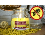 Lima Aroma Dreams Citronela aromatic candle glass with lid 120 g