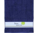 Albi Towel Crack brother dark blue 90 cm × 50 cm