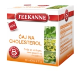 Teekanne Cholesterol herbal tea infusion bags 10 x 2 g