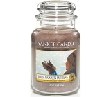 Yankee Candle Warm Woolen Mittens - Wool Wool Gloves Classic Scented Candle Large Glass 623 g
