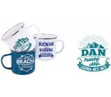Albi Tin mug with the name Dan 250 ml