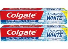 Colgate Advanced White Toothpaste 2 x 75 ml DUO