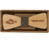Bohemia Gifts & Cosmetics Wooden bow tie Fisher 12.5 cm